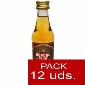3 Ron - Ron Havana Club Añejo Especial 5cl 1 PACK DE 12 UDS