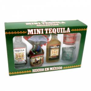 4 Tequila - Tequila Estuche 3 unidades