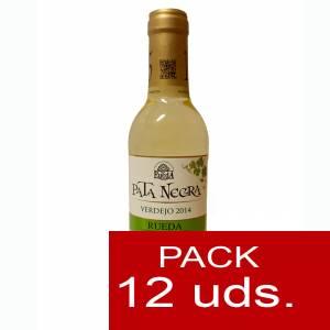 4 Vino - Vino Pata Negra Rueda Blanco Verdejo 37.5 cl CAJA COMPLETA 12 UDS