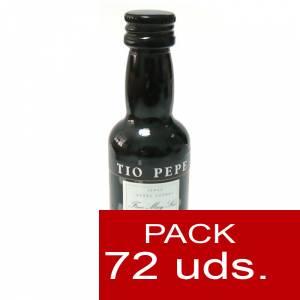 4 Vino - Vino Tío Pepe Jerez (Envase de Plástico) CAJA DE 72 UDS
