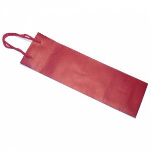 5 Vino - Bolsa Papel para Vino Rojo Extra Grande (36 x 15.5 cm)