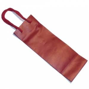 5 Vino - Bolsa Papel para Vino Rojo Pequeño (26.5 x 9 cm)