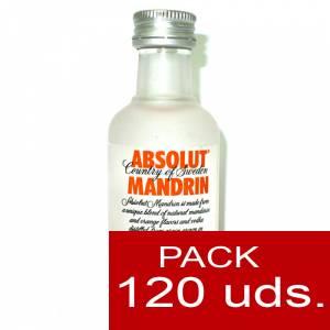 Imagen 5 Vodka Vodka Absolut Mandrin 5cl CAJA DE 120 UDS