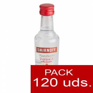5 Vodka - Vodka Smirnoff 5cl CAJA DE 120 UDS
