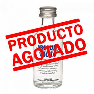 6 Vodka - Vodka Absolut 5cl