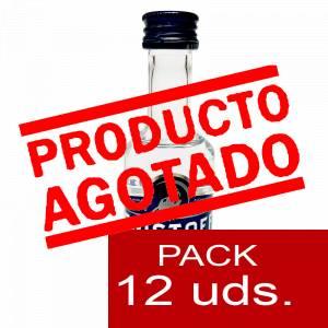 6 Vodka - Vodka Eristoff 5cl - PT (Últimas Unidades) 1 PACK DE 12 UDS