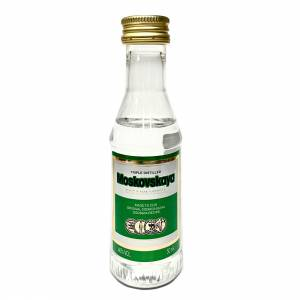 6 Vodka - Vodka Moskovskaya 5cl