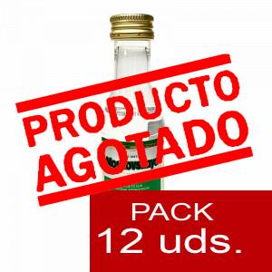 6 Vodka - Vodka Moskovskaya 5cl 1 PACK DE 12 UDS