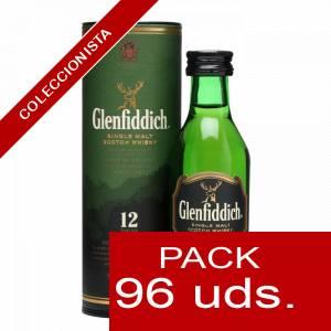 6 Whisky - Whisky Glenfiddich 12 años c/Tubo, 5CL . CAJA DE 96 UDS