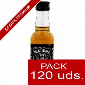 6 Whisky - Whisky Jack Daniels Plastico CAJA DE 120 UDS