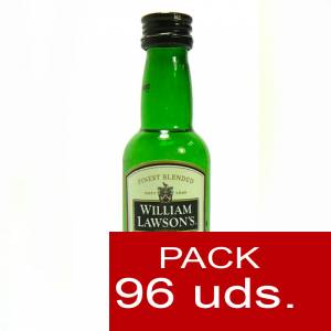 6 Whisky - Whisky William Lawson 5cl CAJA DE 96 UDS