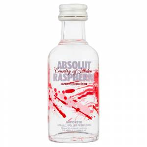7 Vodka - Vodka Absolut Raspberri 5cl