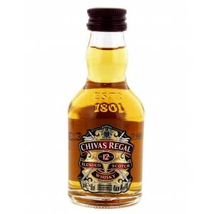 7 Whisky - Whisky Chivas Regal 12 años Blended 5cl
