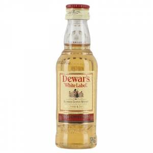 7 Whisky - Whisky Dewar´s White Label 5cl (OFERTA TEMPORAL)
