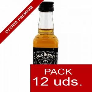 7 Whisky - Whisky Jack Daniels PLASTICO 5cl 1 PACK DE 12 UDS