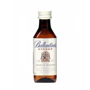 8 Whisky - Whisky Ballantines Finest 5cl