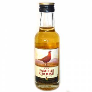 8 Whisky - Whisky Famous Grouse 5cl