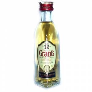 8 Whisky - Whisky Grants Escocés 5cl