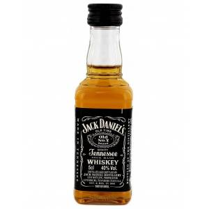 8 Whisky - Whisky Jack Daniels 5cl Plástico (OFERTA LIMITADA) (Últimas Unidades)