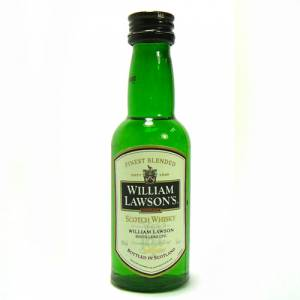 8 Whisky - whisky William Lawson 5cl