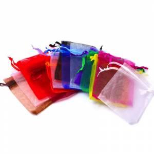 Elementos Carrito - Bolsa de organza a juego (varios colores disponibles)