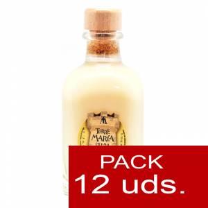 Licores, orujos y crema - Crema de Arroz Torre María FRASCA 100 - CAJA DE 12 UDS
