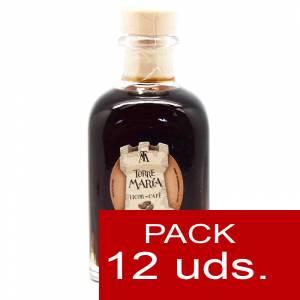 Licores, orujos y crema - Licor de Café Torre María FRASCA 100 - CAJA DE 12 UDS