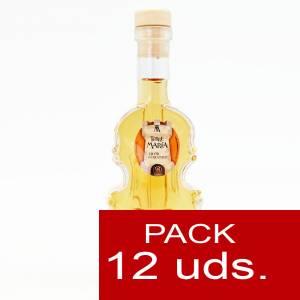 Licores, orujos y crema - Licor de Caramelo Torre María VIOLÍN - CAJA DE 12 UDS