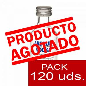 Vodka - Vodka Absolut 5cl CAJA DE 120 UDS