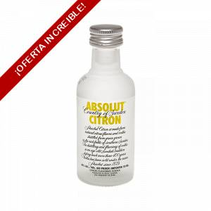 Vodka - Vodka Absolut Citron 5cl