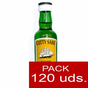 Whisky CAJAS - Whisky Cutty Sark 5cl CAJA DE 120 UDS