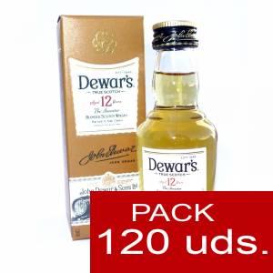 Whisky - Whisky Dewar´s White Label 12 años ed. Especial CAJA DE 120 UDS