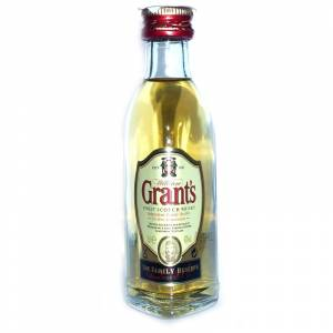 Whisky - Whisky Grants Escocés 5cl