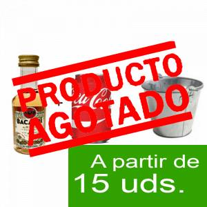 - KITS DE REGALO - Pack Ron Bacardi 4 años 5cl con latita Coca Cola 20cl en cubo metal